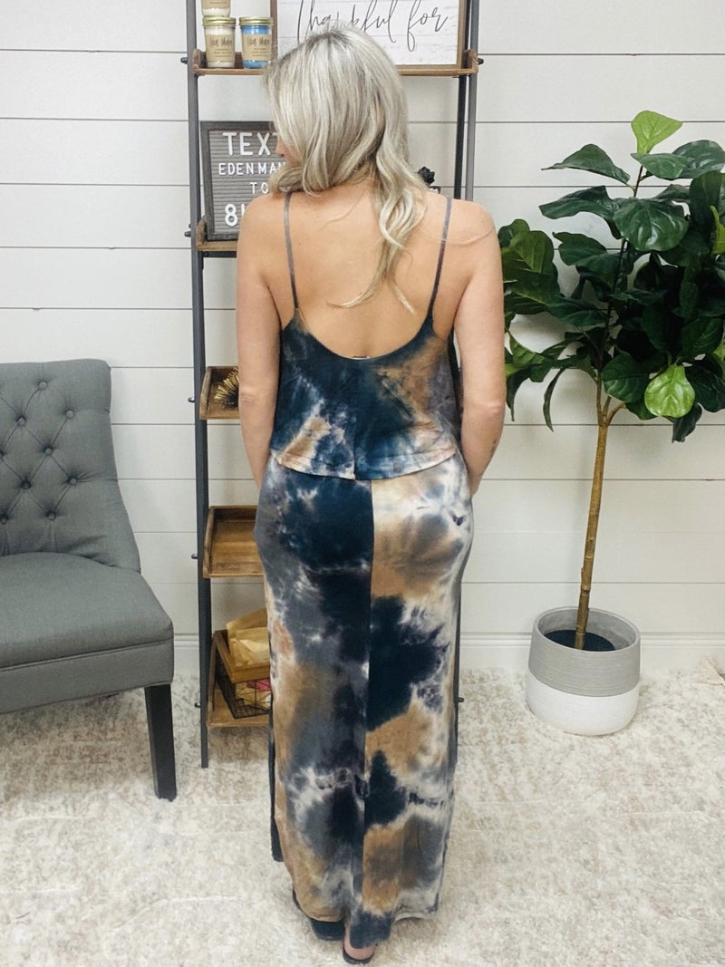 normally 46.95 - Dark Tie Dye Maxi Dress