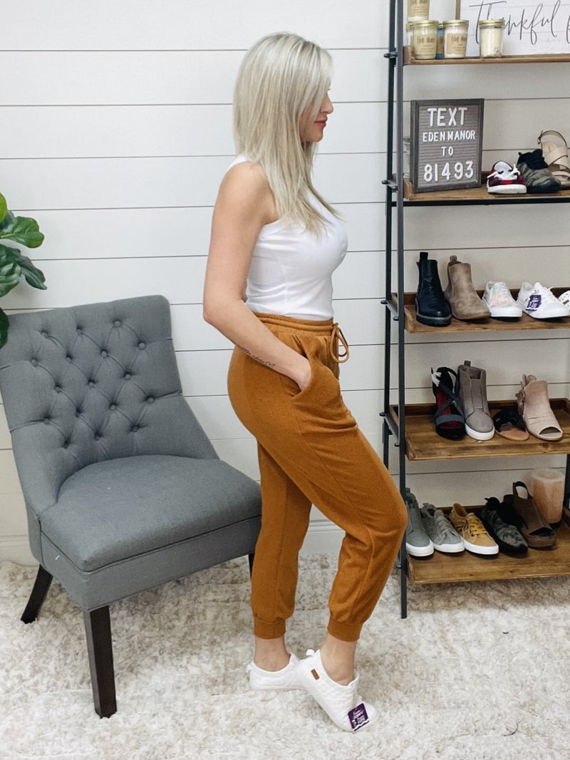 normally 42.95 - Lelis Camel Colored Lounge Jogger Pants