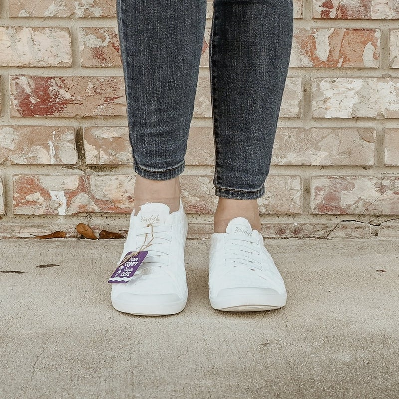 ON SALE - Daisy Eyelet Sneakers -White - normally 44.95
