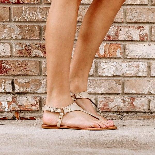 Nude Adjustable Sandal