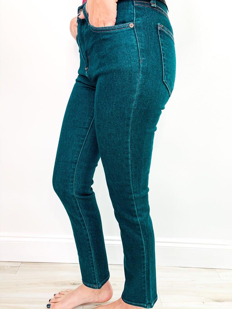 Clean Dark Jeans