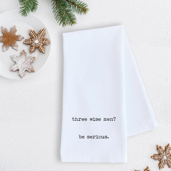 ON SALE - Three Wise Men Tea Towel- NORMALLY 15.99
