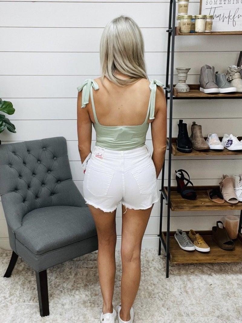 YMI White Shorts