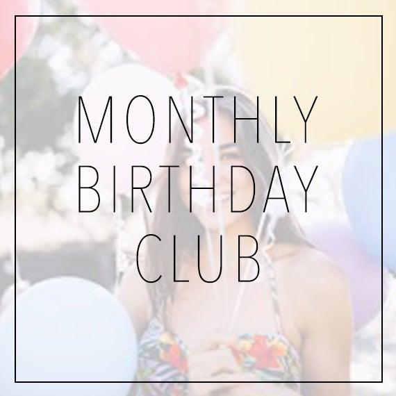 Birthday Club