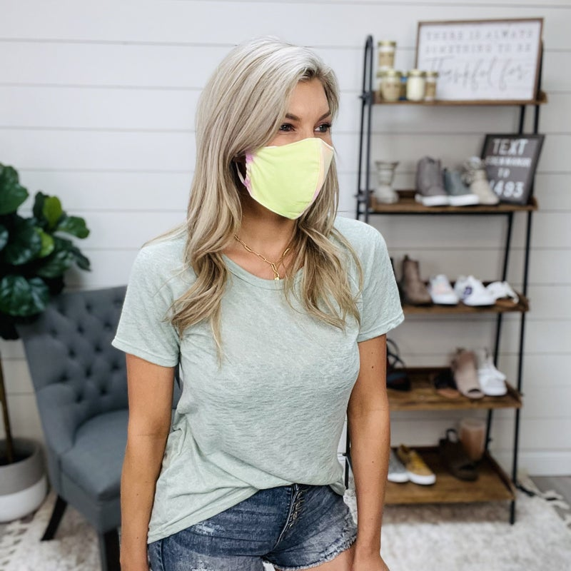 ON SALE - Sunset Vibes Face Mask