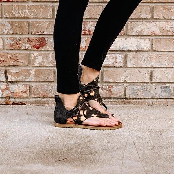 ON SALE - Acid Splatter Sandals