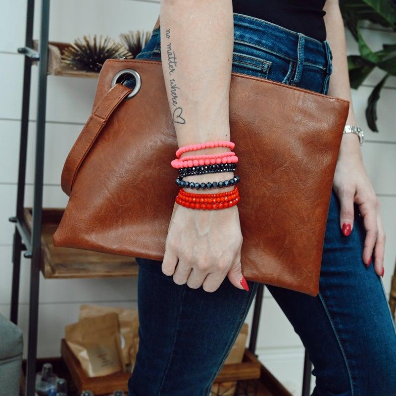 ON SALE - Beaded Bracelet Set - normally 12.99