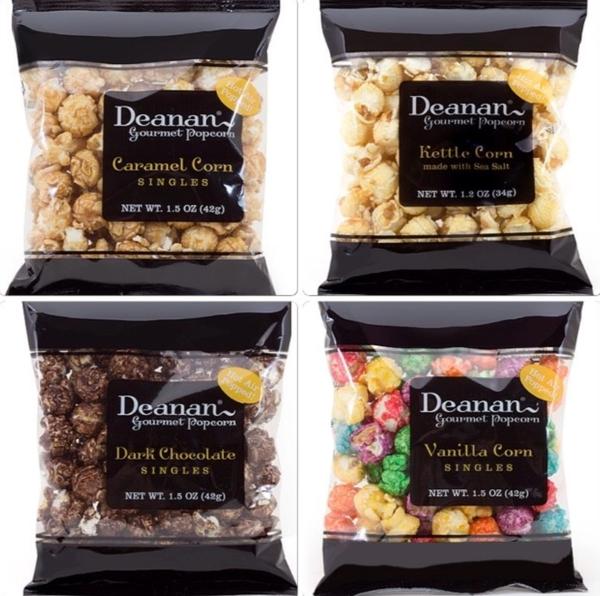 4 pack of Popcorn