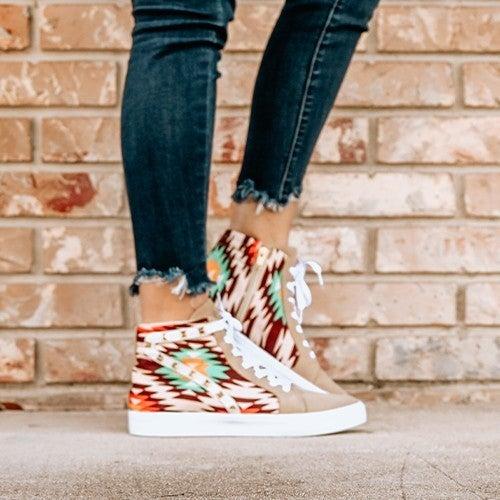 Aztec Orange Sneaker