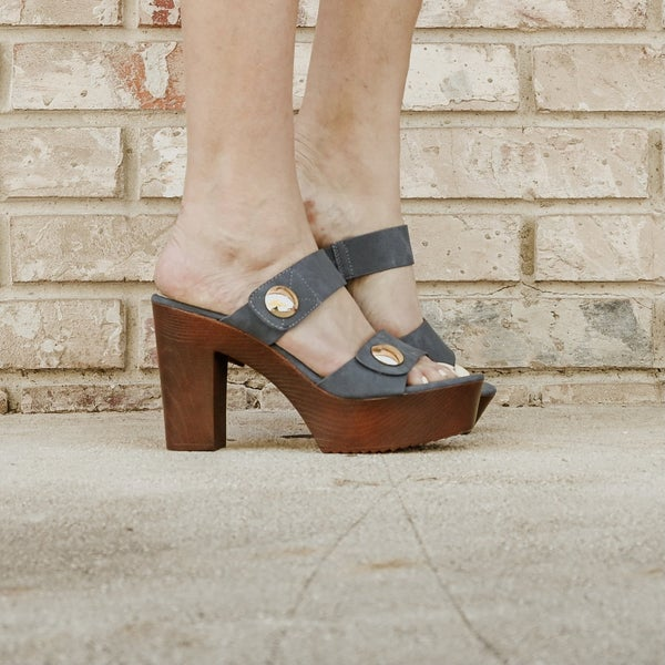 Denim Blue Heels
