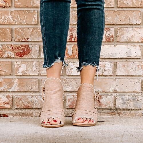 on sale - Blush Everyday Thick Heel