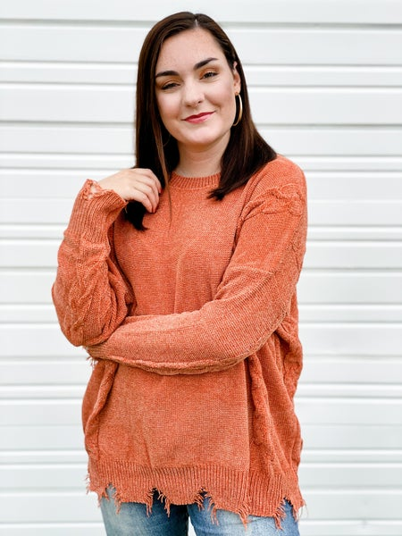 'Tied Down' Sweater