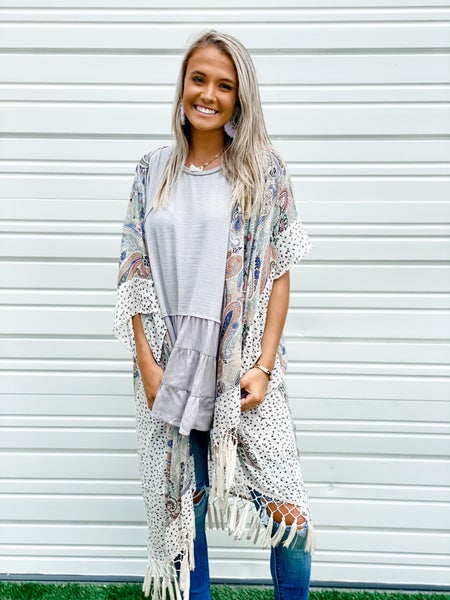 'Bohemian Hottie' Kimono