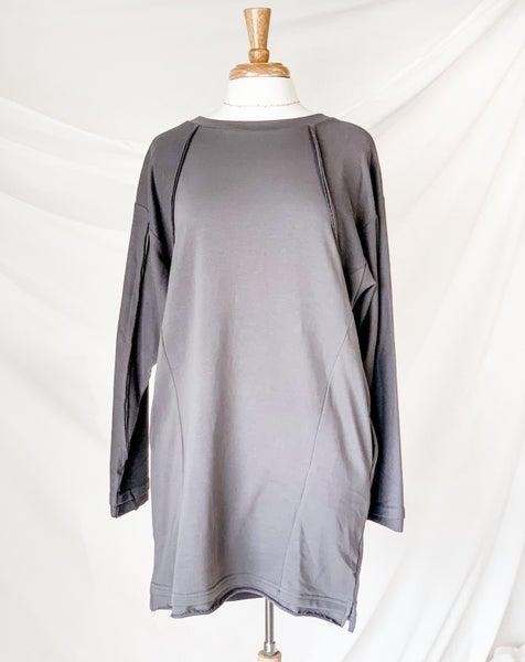 'Simple As That' Sweatshirt Dress