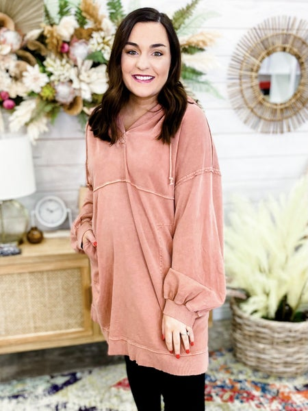 'Keeping it Casual' Hooded Tunic