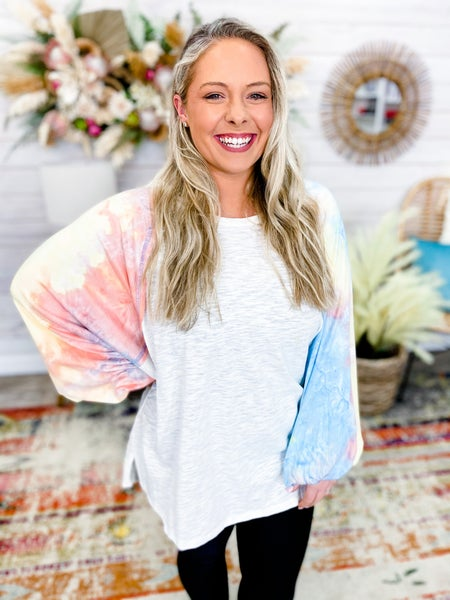 'To Tie-Dye For' Top