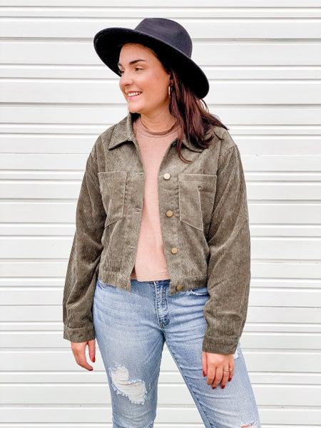 'Back To You' Corduroy Style Jacket
