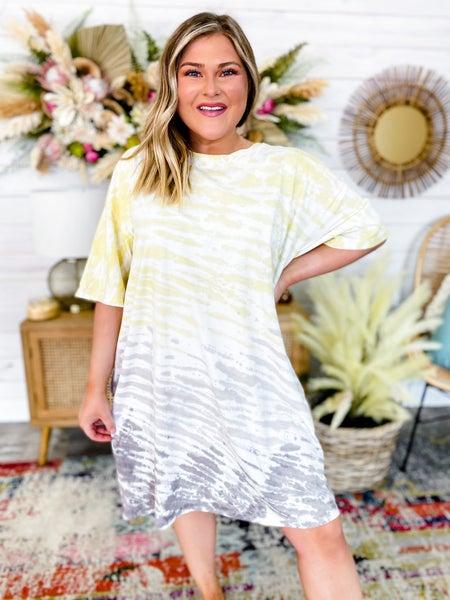 'Drip Like Me' Tie Dye Dress