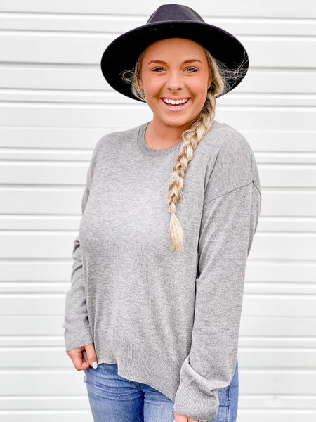 'Major Mood' Lightweight Sweater Top