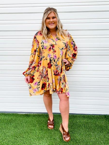 'Sweet Summertime' Floral Dress