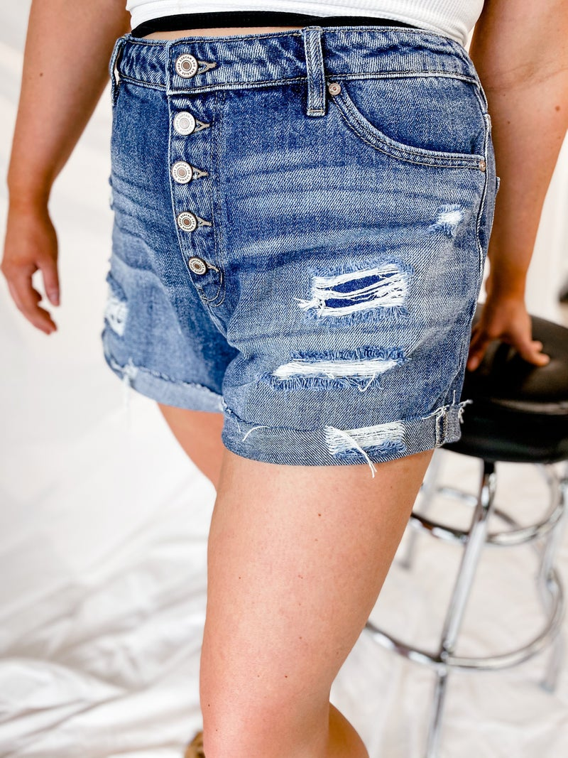 'The Julia' 5 Button Shorts