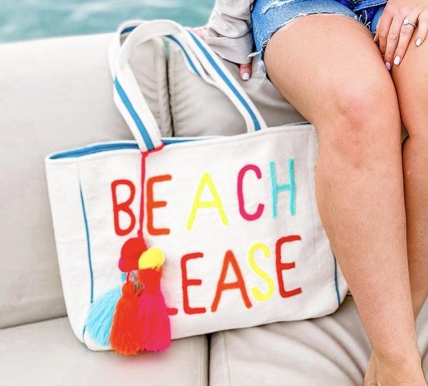 'Beach Please' Tote