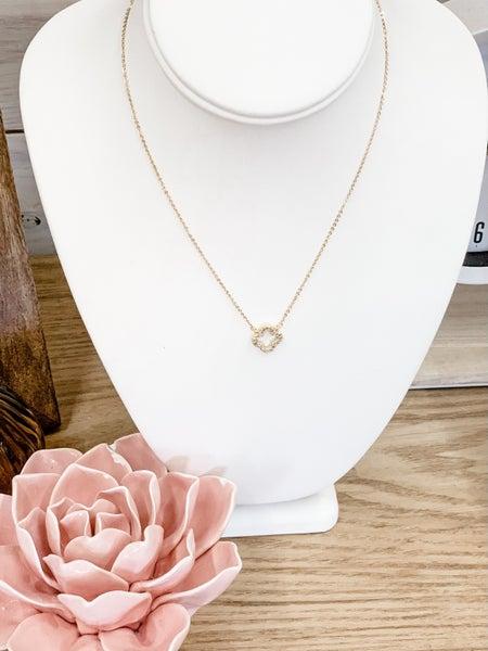 'Flor' Gold Necklace