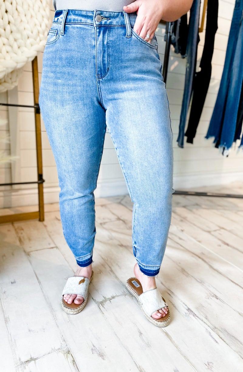 'The Morgan' High-Waist Boyfriend Jeans
