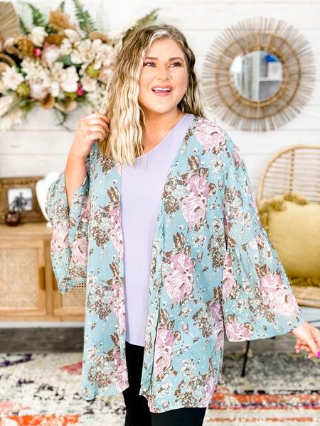 'Spring In Your Step' Kimono
