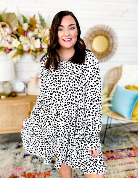 'Less Is More' Spotted Dress
