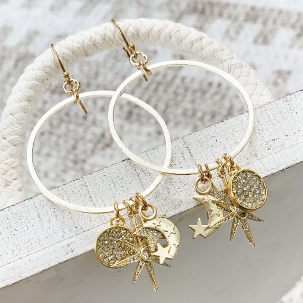 Celestial Dangle Earring