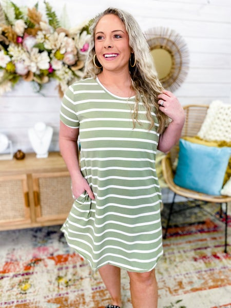 'Slip Into Style' T-Shirt Dress