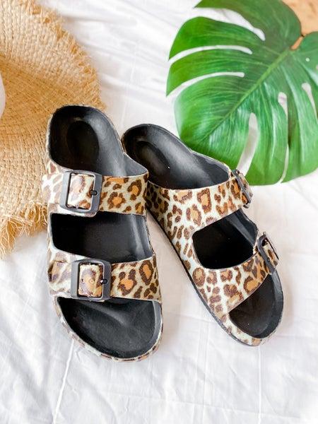 'Waterslide' Slip-On Sandals