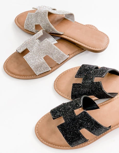 'Take You With Me' Dazzle Sandal