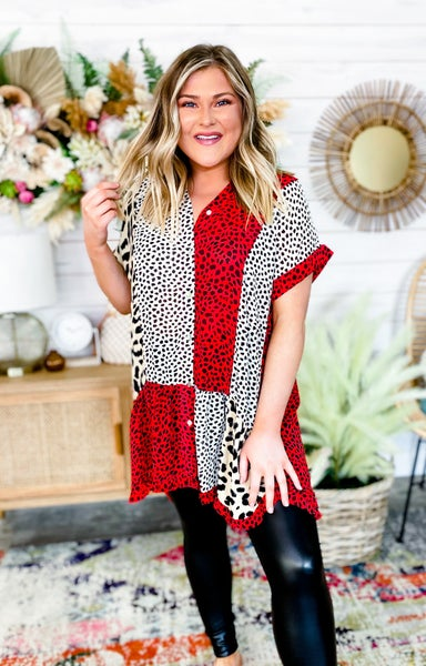 'All My Time' Tunic Top