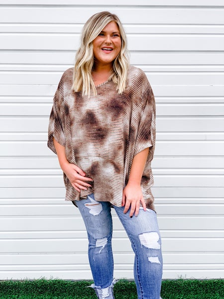 'Make The Cut' Oversized Top