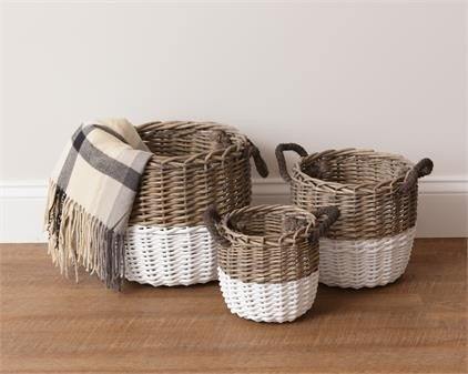 Baskets - Two - Tone Circular
