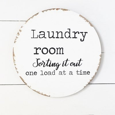 LAUNDRY SORTING SIGN