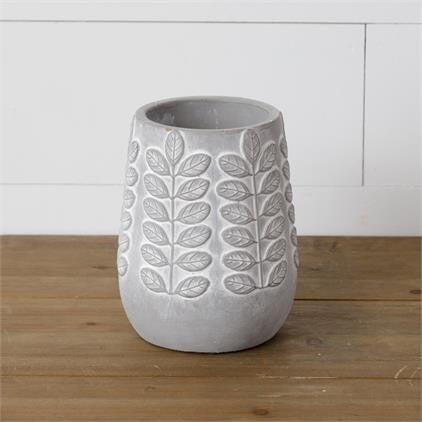 Planter Embellished Cement