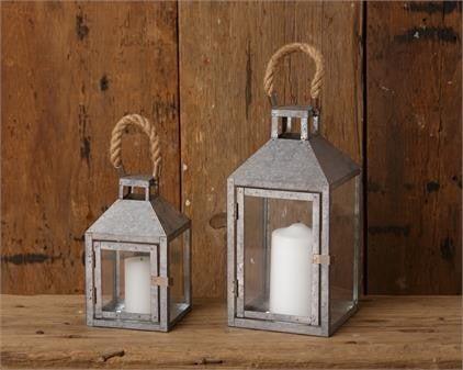Lantern - Galvanized