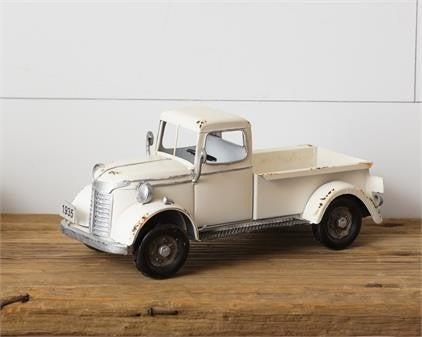 Antique White Truck