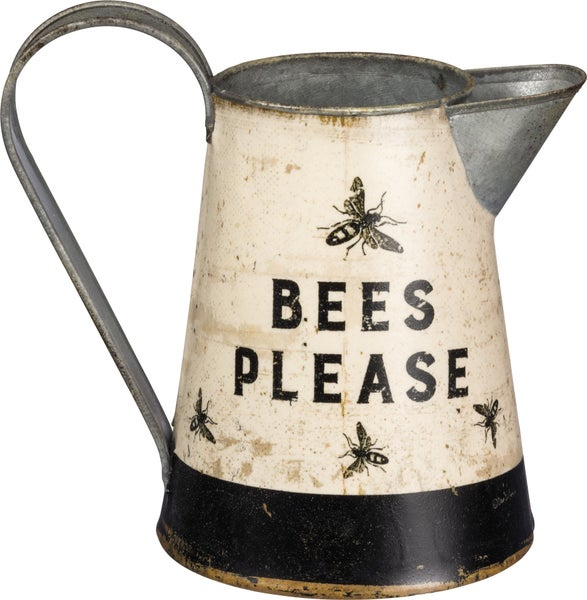 Bees Please Small Pitcher