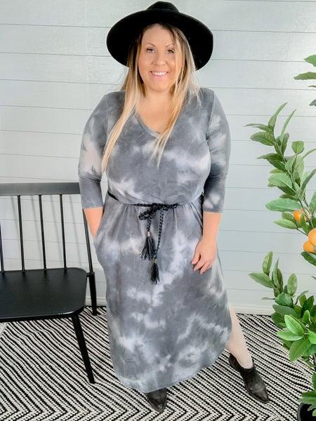 PLUS/REG Tie Dye Dress