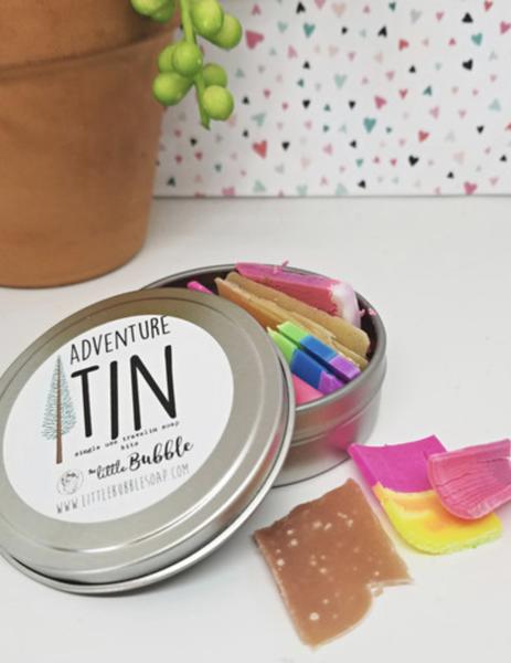 Adventure Tin Soap Bits