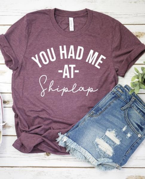 You Had Me At Shiplap