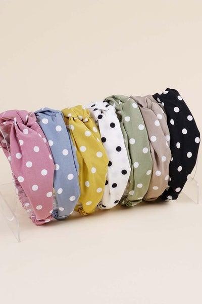 Polka Dot Headband