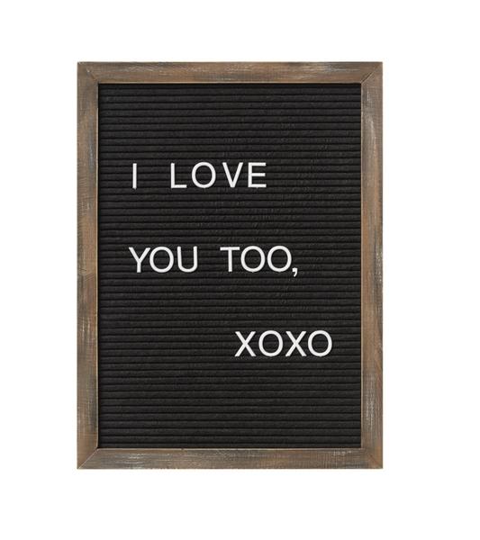 12 X 16 Letterboard