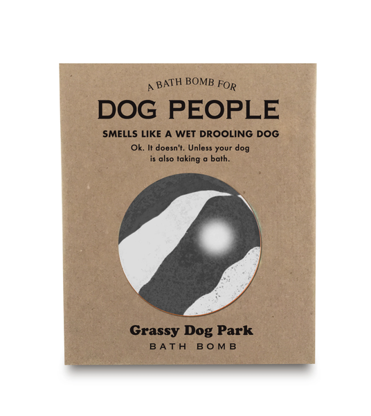 A Bath Bomb for Dog People
