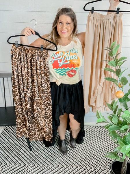High Low Ruffled Skirt *FINAL SALE*
