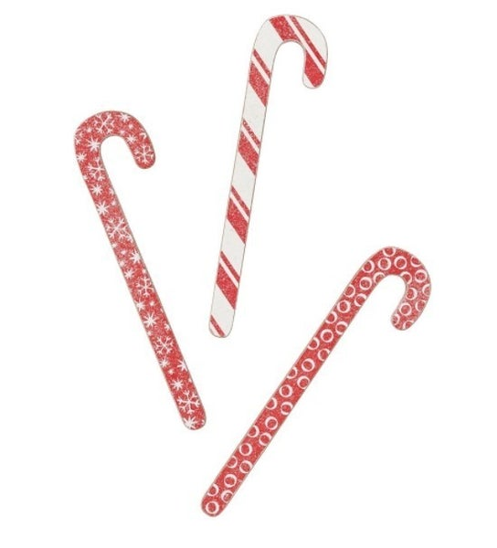 Red and White Candy Canes Set